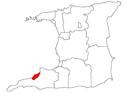 Location of Point Fortin