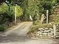 Public footpath, Gwernymynydd 5.JPG