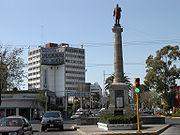 Monument at Ave. Juárez