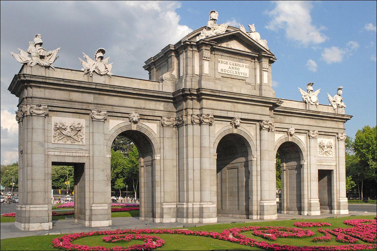 Puerta De Alcal Wikipedia