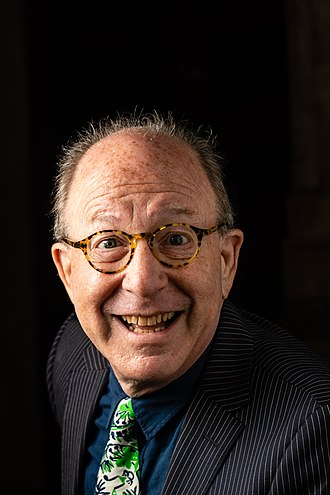 Jerry Saltz - Saltz at the 2018 Pulitzer Prizes