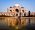 Purana Qila' (Old Fort) is one of the oldest forts in Delhi. The present citadel at Purana Qila was believed to have been built under Humayun and Afghan Sher Shah Suri.jpg