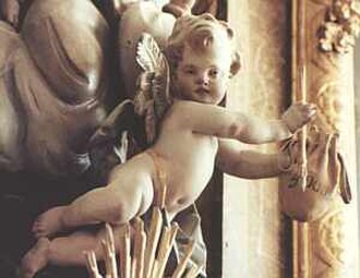 Marchtal Abbey - Image: Putto Kloster Obermarchtal