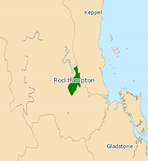 Electoral district of Rockhampton - Electoral map of Rockhampton 2008