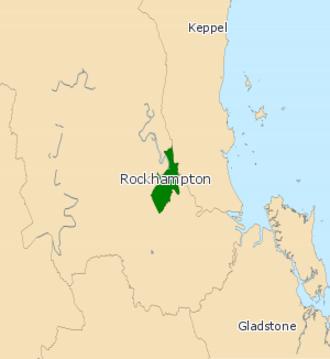 Electoral district of Rockhampton - Electoral map of Rockhampton 2008