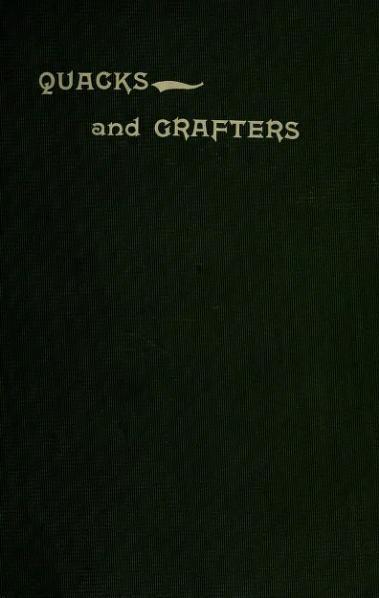 File:Quacks and Grafters.djvu