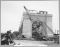 Queensland State Archives 3610 South anchor pier almost completed Brisbane 14 December 1937.png