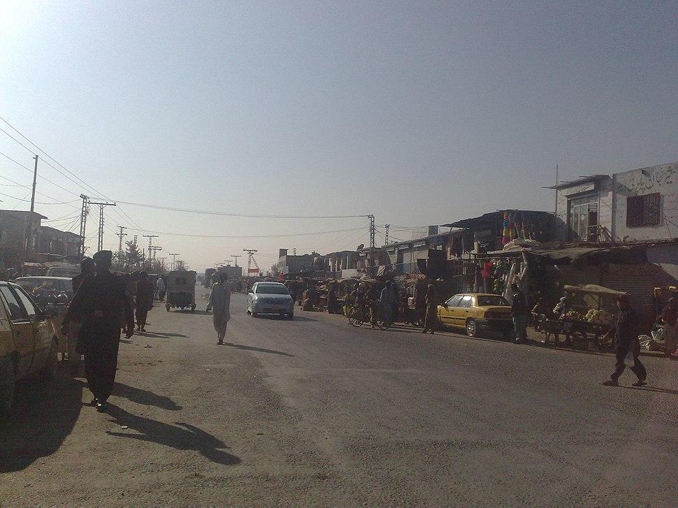 Quetta Sariab Customs Shops - panoramio