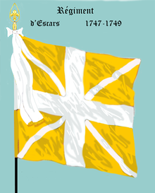 Image illustrative de l'article Régiment d'Escars (1747)