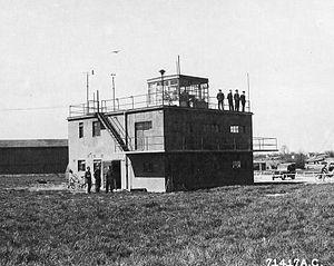 RAF Framlingham - RAF Framlingham Control Tower, 22 May 1944.