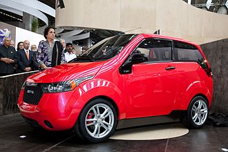 Government incentives for plug-in electric vehicles - Mahindra e2o which is manufactured in India