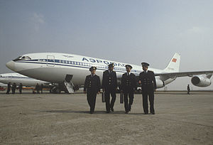 RIAN archive 501495 Il-86 airliner crew.jpg
