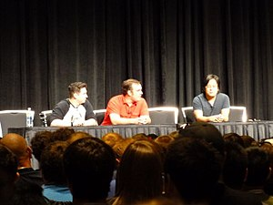 Video Game High School - Image: RTX 2013 freddiew panel