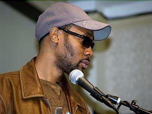 Liquid Swords - Producer RZA (pictured in 2009) began recording the album after finishing several other Wu-Tang projects.