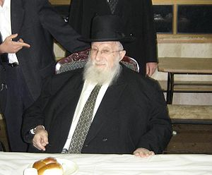 Torah Ore - Rabbi Chaim Pinchas Scheinberg in 2010.