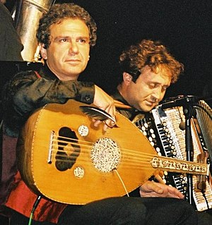 Rabih Abou-Khalil - Cactus of Knowledge concert in Bonn, Germany, with Luciano Biondini