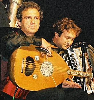 Luciano Biondini - Cactus of Knowledge concert in Bonn, Germany, with Rabih Abou-Khalil.