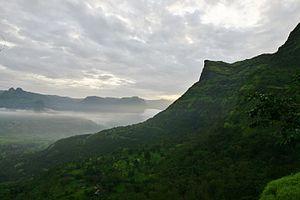Raigad Fort Tak Mak Tok The famous cliff