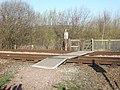 Railway Crossing at Kirkthorpe - geograph.org.uk - 365531.jpg