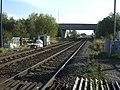 Railway running south from Sherburn in Elmet station - geograph.org.uk - 2628923.jpg