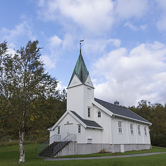 Ramsvik Church - View of the church