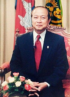 Norodom Ranariddh 20th and 21st-century Cambodian politician