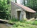 Randonnée ESD 2009 - un lavoir à Champdoux.JPG
