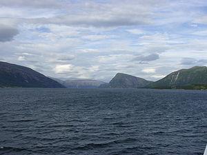 Ranfjord - Image: Ranfjorden