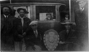 Ranfurly Shield - Ranfurly Shield Visit to Shannon 1927