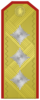 Rank insignia of Генерал-лейтенант of the Bulgarian Army.png