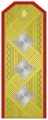 Rank insignia of General-leitenant of the Bulgarian Army.png