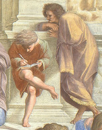 Use Your Illusion II - Raphael, The School of Athens (detail)