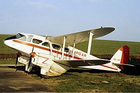 image illustrative de l'article De Havilland DH.89 Dragon Rapide
