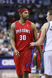 Rasheed Wallace Popular Power Forward