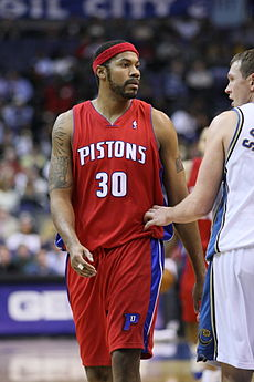 Image illustrative de l'article Rasheed Wallace