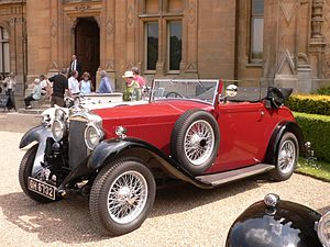 Invicta (car) - 4½ litre long wheelbase NLC, 1932