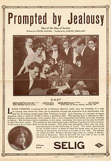 <i>Prompted by Jealousy</i> 1913 film by Hardee Kirkland