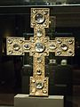 Reliquary (processional) cross, after 1250, exh. Benedictines NG Prague, 150769.jpg