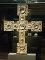 Reliquary (processional) cross, after 1250, exh. Benedictines NG Prague, 150769.jpg
