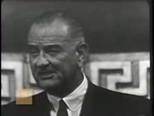 File:Remarks on the Signing of the Voting Rights Act (August 6, 1965) Lyndon Baines Johnson.ogv
