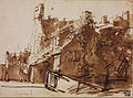 Rembrandt Harmensz. van Rijn - Dutch Farmhouse in Sunlight - Google Art Project.jpg