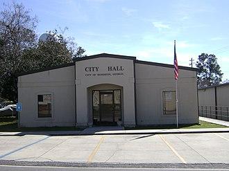 Remerton, Georgia - Remerton City Hall
