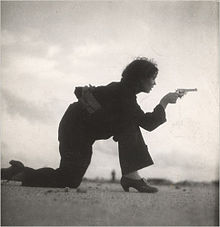 Woman training for a Republican militia, Gerda Taro, 1936