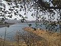 Reservoir of Sei dam in Kotra tehsil, Udaipur district, Rajasthan, shot in May 2019.jpg