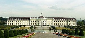 18th-century history of Germany - Ludwigsburg Palace in Württemberg
