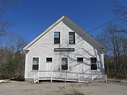 Photo of old Reunion Grange Hall in Union, NH