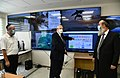 Reuven Rivlin visit to the Command Center fighting against COVID-19 of the city of Bnei Brak, November 2020 (GPOHA1 2376).jpg
