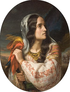 Constantin Daniel Rosenthal - Revolutionary Romania (portrait of Maria Rosetti)