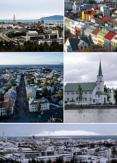 Reykjavík Capital and largest city in Iceland