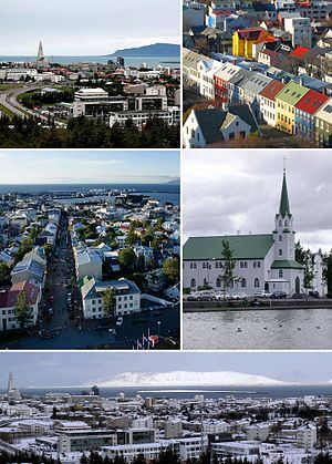 Reykjavík - Image: Reykjavik Main Image